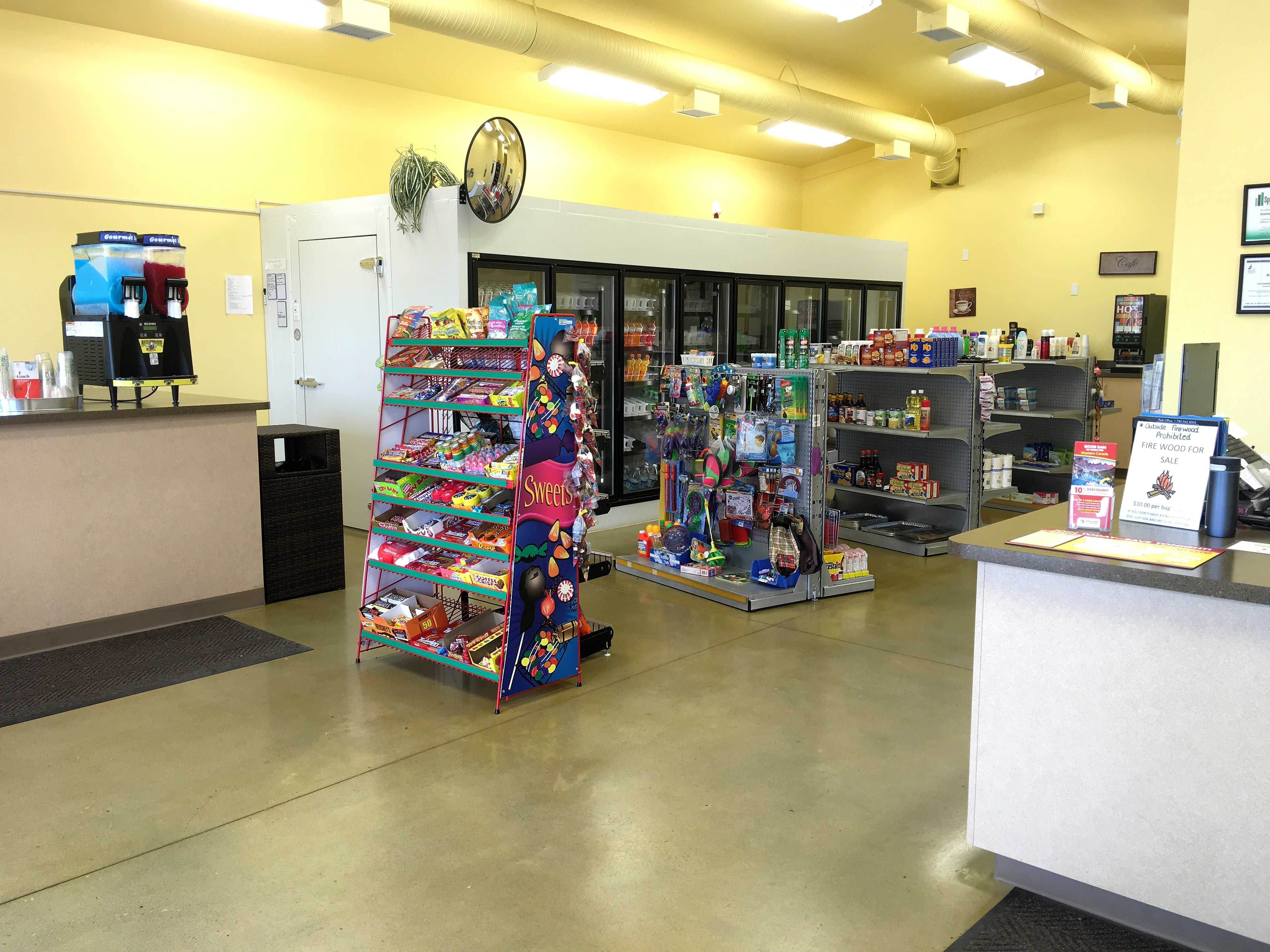 Convenience Store and Front Desk